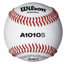 Wilson A1217 Soft Compression Baseball (12-Pack), White