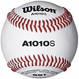 Wilson A1010S Official High School Leather Blem Baseballs (Dozen)