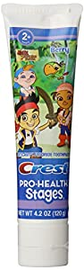 Crest Pro-Health Stages Jake And The Neverland Pirates Kid's Toothpaste 4.2 Ounce (Pack of 12)