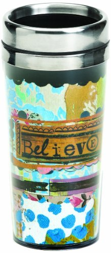 Demdaco Kelly Rae Roberts Believe Travel Mug