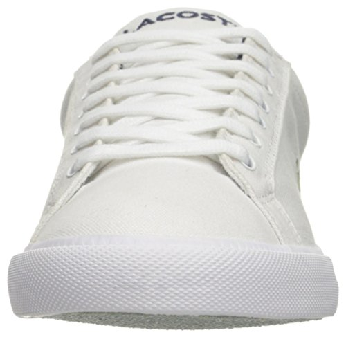 Lacoste Men's Grad Vulc Fb Fashion Sneaker Fashion Sneaker, White/navy, 8 M US