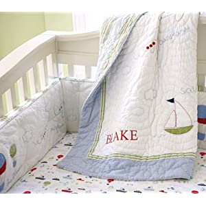 Childrens Nursery Bedding on Amazon Com  Pottery Barn Kids Transportation Nursery Bedding  Baby