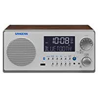 Sangean WR22 WR-22 Bluetooth Digital Radio (FM-RDS (RBDS)/AM, USB, 3 Zoll full range speaker, Built-in Bluetooth)