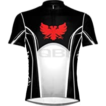 Primal Wear Baron Jersey: Black/White/Red; XL