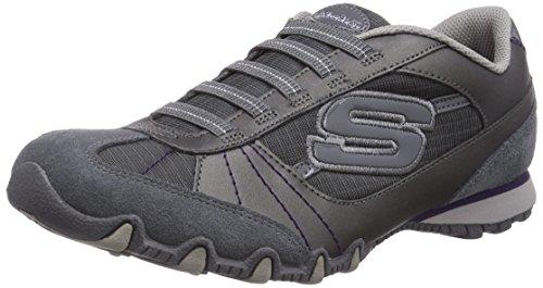 Skechers-Bikers-Vexed-22037-BLK-Zapatillas-fashion-de-cuero-para-mujer