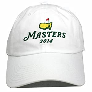 2014 Masters Stacked Logo Hat - White