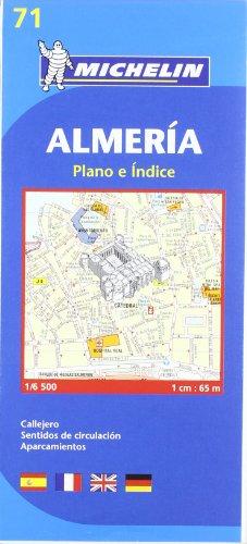Plano Almería (Planos Michelin)