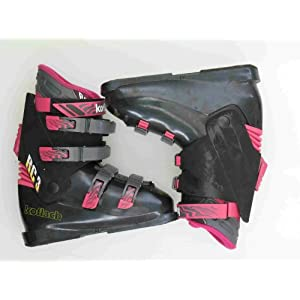 New Koflach RC 3 Black Ski Boots Women's Size