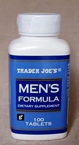 Amazon Com Trader Joe S Men S Formula 100tablets Health