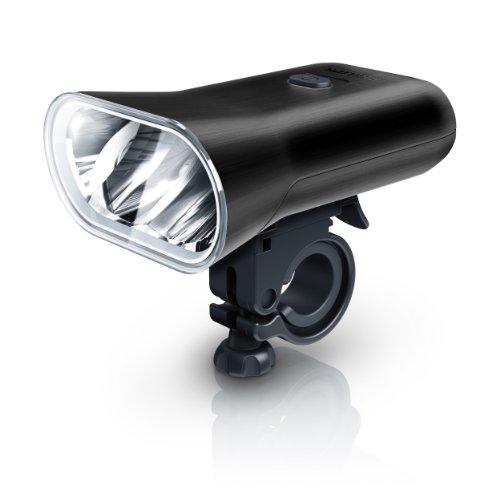 Philips LED bike light - Black Brushed Aluminium