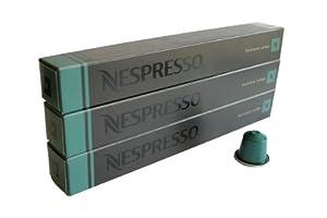 Nespresso Capsules UK - 30x Fortissio Lungo - Original Nestlé - Espresso Coffee