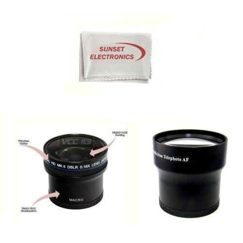 Canon Telephoto Zoom Lenses: Fujifilm FINEPIX HS10 S9500 S9000 S9100
