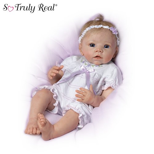 White 6 Cube Kids Toy Games Storage Unit Girls Boys: So Truly Real Lifelike Baby Doll Chloe S Look Of Love By