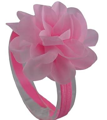 Lisa Baby Girl Spring Flower Headband (Pink)