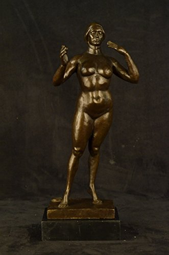HandmadeEuropean-Bronze-Sculpture-Signed-Manship-Abstract-Modern-Art-Nude-Female-Marble1XXN-2214Statues-Figurine-Figurines-Nude-Office-Home-Dcor-Collectibles-Deal-Gifts