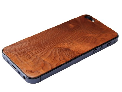 Special Sale iPhone 5 Real Wood Skin - Redwood Burl Front & Back Cover Made in the USA