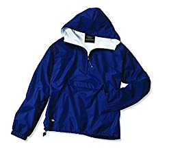 Charles River Apparel Women's Front Pocket Classic Pullover,Small,Navy