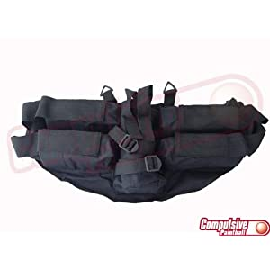 GxG 4+1 Pod Horizontal Harness - Black