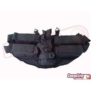 GxG 4+1 Pod Horizontal Harness - Black