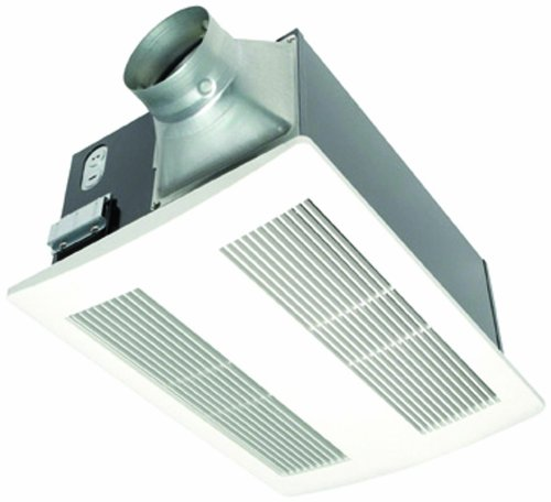 Panasonic FV11VH2 WhisperWarm 110 CFM Ceiling Mounted Fan/Heat Combination, White Picture