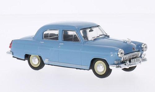 GAZ M21 Volga, limousine, azzurro, modello di automobile, modello prefabbricato, SpecialC.-75 1:43 Modello esclusivamente Da Collezione