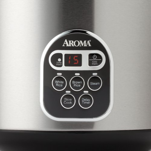 Imagen de Aroma ARC-150SB 20-Cup (cocido) Cocina Digital Rice y vaporera, Negro / Pl                         </p>                     </div>                 </div>             </div>               <div class=