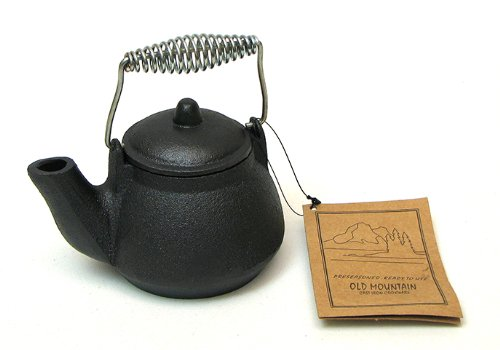 Iwgac 0166-10179 Old Mountain Mini Tea Kettle 1.5 Cups