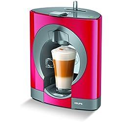 NESCAFÉ DOLCE GUSTO Oblo Red KP1105 Krups, Macchina per caffè espresso e altre bevande, Manuale