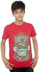 Menthol Boys Organic Cotton Tshirt (9-10 Years)