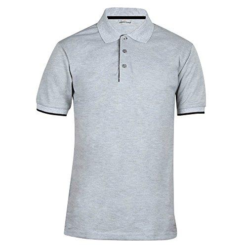 Neue-kurzrmelige-und-erstklassige-T-shirt-mit-Revers-in-Frhling-Sommer-Beliebte-Mode-Polo-Hemd-fr-Jugend-POLO-Hemd-mit-Manschette-Kontrast-Farben-Kurzrmelige-T-shirt-in-Freizeit-M-grau