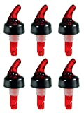 Measured Bottle Pourer - Auto-Measuring 1 oz (30 mL) - Set of 6