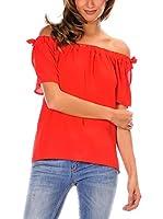 Romantik Paris Blusa Gabrielle (Rojo)