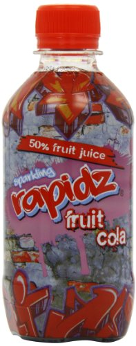 Sparkling Rapidz Fruit Cola 330 ml (Pack of 24)