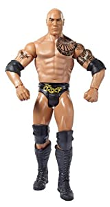 WWE WrestleMania 30 The Rock Action Figure by Mattel