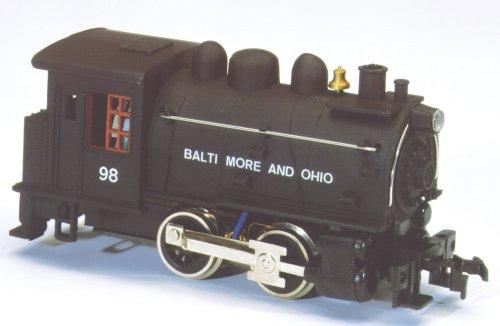 Life-Like Trains  HO Scale Powered 0-4-0 Dockside Locomotive - Baltimore and Ohio