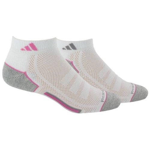 adidas Women's ClimaCool II Low Cut Sock, Pack of 2 adidas boys climacool x ii low cut socks pack of 2