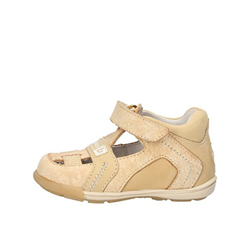 BALDUCCI sandali bambino beige pelle pelle scamosciata AF346 (18 EU)