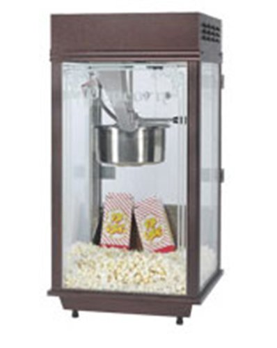 Gold Medal 2147 120208 Deluxe Pinto Popcorn Machine W/ 8-Oz Kettle & Copper Vein Finish, 120/208V, Each