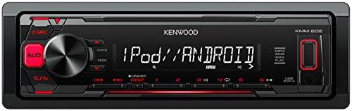 KMM-202 Kenwood, Digital Media Receiver, USB, Nero/Antracite