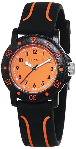 Esprit - ES108334004 - Montre Mixte - Quartz - Analogique - Bracelet plastique noir