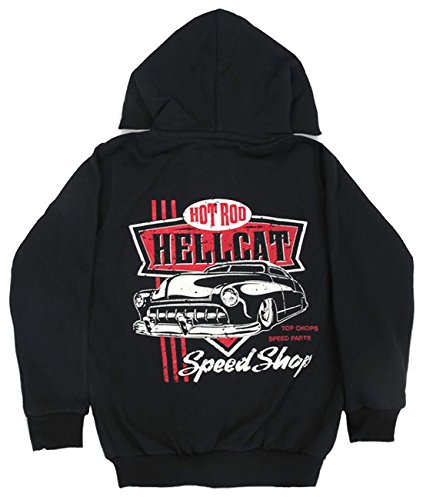 Hotrod Hellcat -  Giacca  - Camicia - ragazzo nero 2 anni