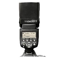 Yongnuo YN-565EX II TTL Flash Speedlite for Canon 650D, 600D, 550D, 1000D, 1100D, 5DII, 5DIII, 1DIV Cameras (YN-565EX Flashlight Upgrade Version)