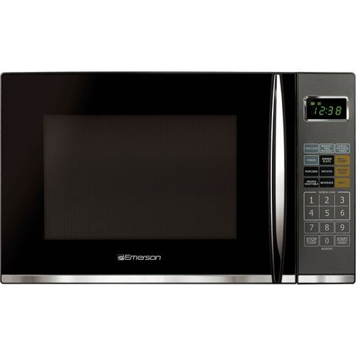 Emerson 1.2 cu ft Microwave with Grill, Black