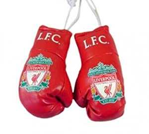 Ready Steady Bed Liverpool Fc Mini Boxing Gloves