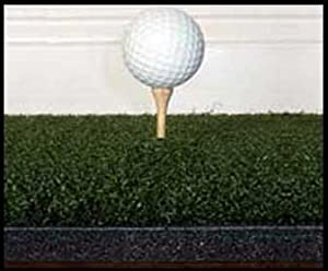 """4'x4' GORILLA Perfect ReACTION Golf Mats. Use Real Wood Tees. At Last a No Bounce, Hit Down & Through Golf Mat. The Next Generation in Golf Mats. No Rubber Tees Required. No Club Shock 1 3/4"""" Thick."""
