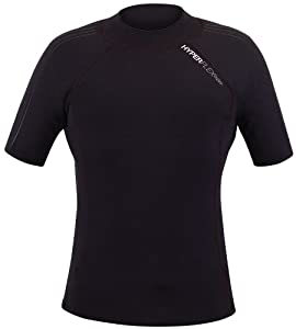 Buy Hyperflex Wetsuits Mens 1.5-mm Amp-3 Short Sleeve Top by Hyperflex