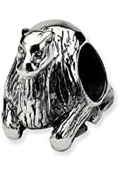 Reflections Sterling Silver Sitting Camel Bead / Charm