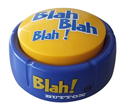 Blah! Button (Features 12 Funny Phrases!! Brand New Toy-2014!) by Made in China