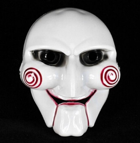 one Halloween Mask Saw chainsaw killer theme mask original made of quality PVC