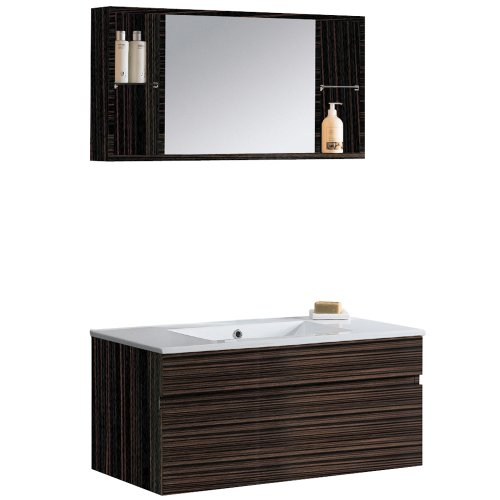 Beautiful VIGO VGK Picasso Bathroom Vanity Ebony is the best goods brought out the foregoing week As of boosting its unequalled conception